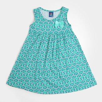 Vestido Bebê Pipa Curto Floral