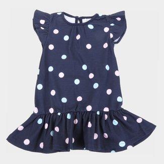 Vestido Bebê Tip Top Poás