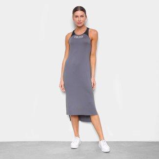 Vestido Colcci Midi Detalhe Tule