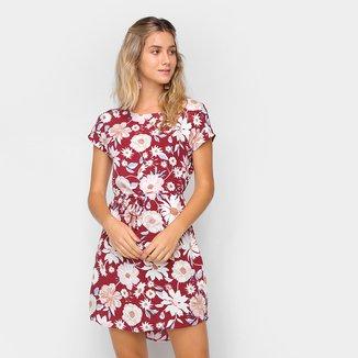 Vestido Hering Curto Floral