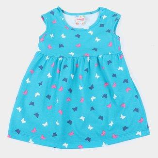 Vestido Infantil Brandili Borboleta Feminino