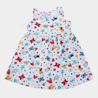 Vestido Infantil Brandili Estampado Feminino