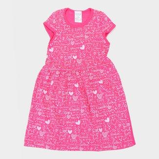 Vestido Infantil Candy Kids Love