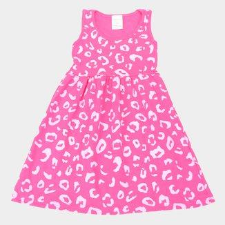 Vestido Infantil Candy Kids Regata Estampado