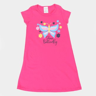 Vestido Infantil Candy Kids Shine Butterfly