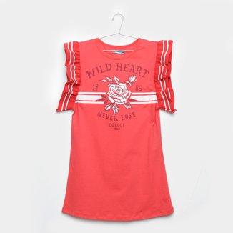 Vestido Infantil Colcci Fun Wild Heart