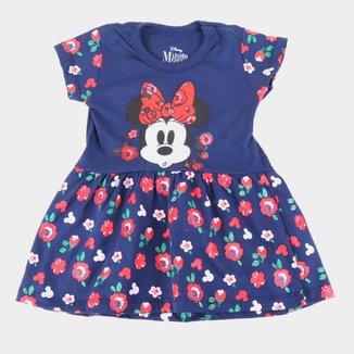 Vestido Infantil Disney Hello Minnie