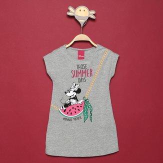 Vestido Infantil Disney Minnie Mouse Summer