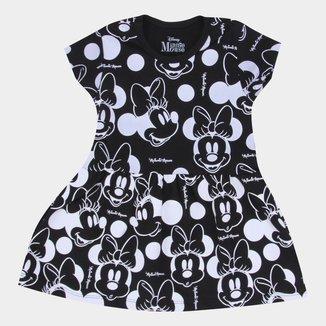 Vestido Infantil Disney Minnie Mouse