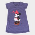 Vestido Infantil Disney Minnie Shame