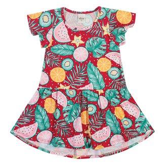Vestido Infantil Elian Frutas