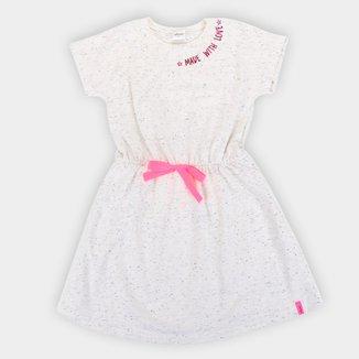 Vestido Infantil Elian Spoty Neon