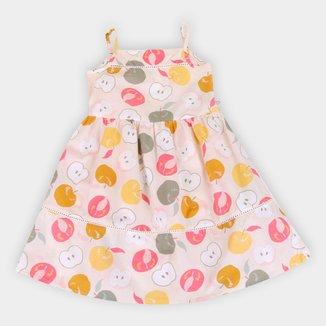 Vestido Infantil Hering Tricoline