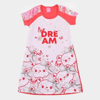 Vestido Infantil Kamylus Dream Paetês