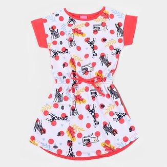 Vestido Infantil Kamylus Gatinhos