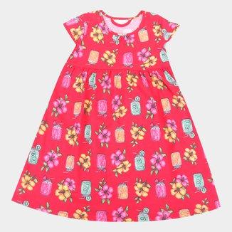 Vestido Infantil Kyly Estampado