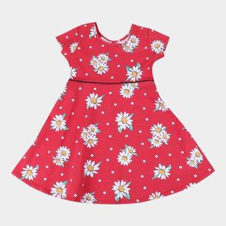 Vestido Infantil Kyly Flores