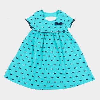 Vestido Infantil Kyly Laço Feminino