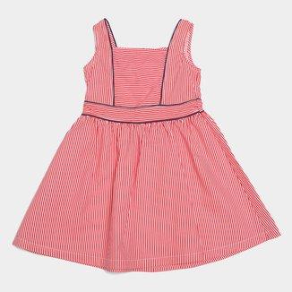 Vestido Infantil Malwee Festa Tricoline Feminino