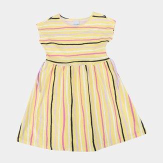 Vestido Infantil Malwee Listras Feminino