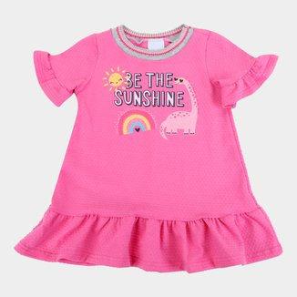 Vestido Infantil Malwee Sunshine