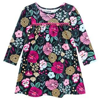 Vestido Infantil Nanai Manga Longa Floral