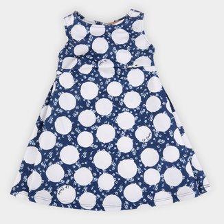 Vestido Infantil Up Baby Malha Sublimada Bolas