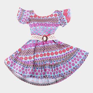 Vestidos Bebê Costão Curto Com Abertura Costas E Cinto