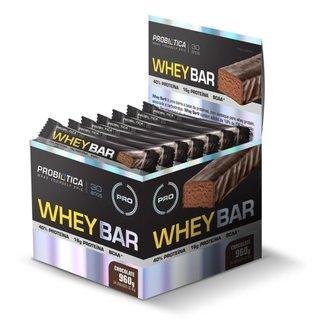 Whey Bar c/ 24 unidades - Probiótica