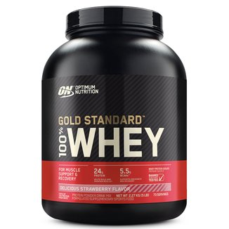 Whey Protein 100% Whey Gold Standard 5 Lbs 2,25 kg - Optimum Nutrition